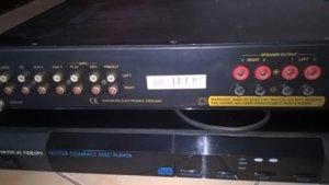 Cần bán Amply Exposure 2010 & CD Player Musical Fidelity   VNAV